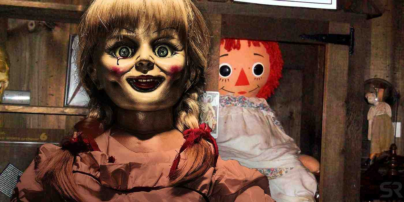 annabelle, in, conjuring, movies